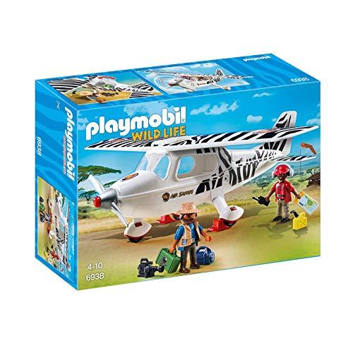 PLAYMOBIL Wild Life 6938 Safari avión, 4+ años