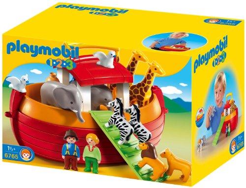 PLAYMOBIL 1.2.3 6765 My Take-along Noah's Ark, a partir de los 18 meses