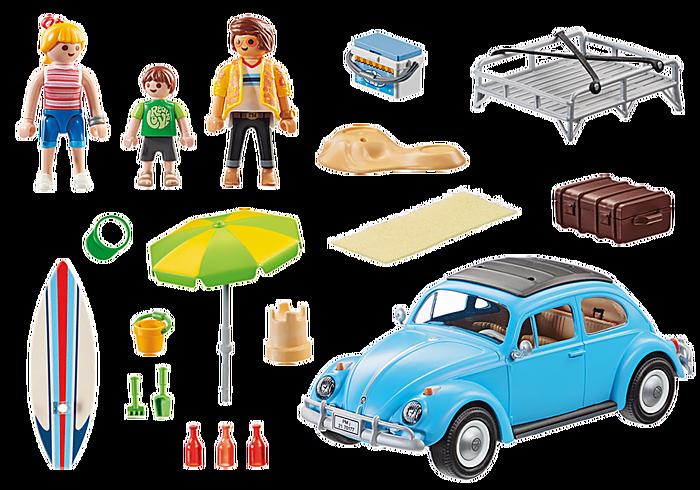 contenido del set volkswagen beetle playmobil