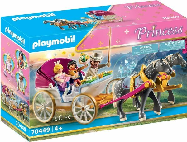carruaje playmobil princess