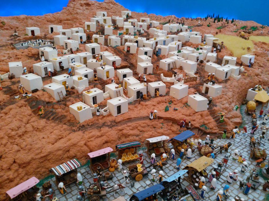 poblado egipcio de playmobil