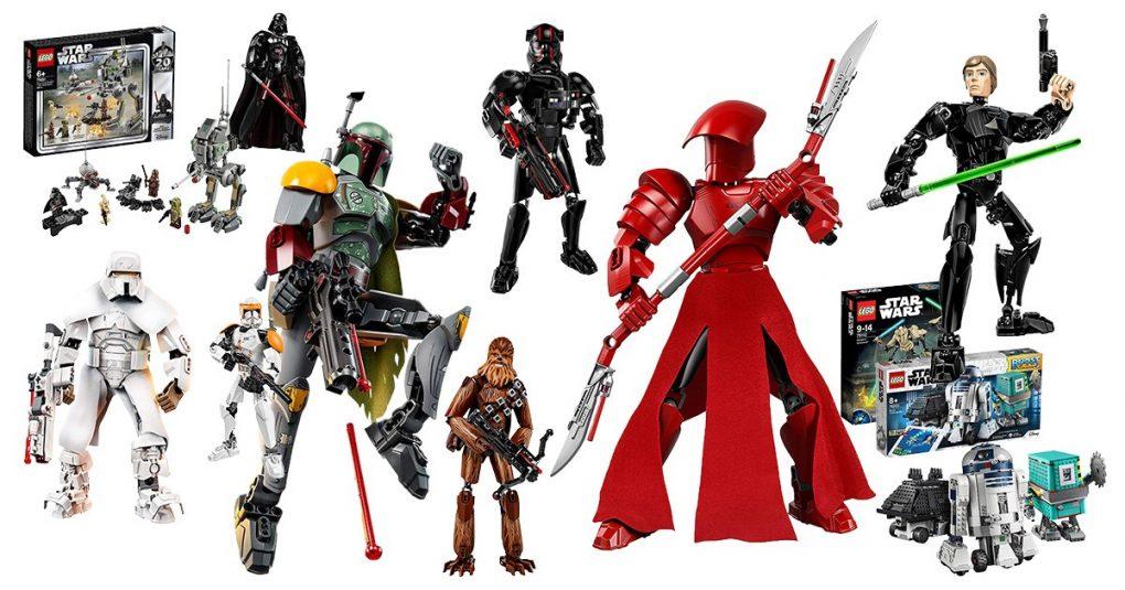figuras star wars de Lego