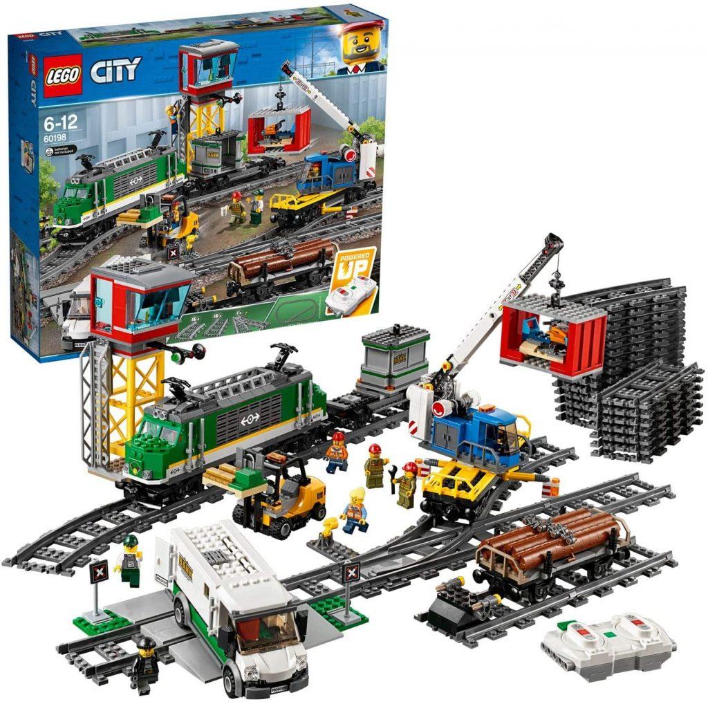 tren de mercancias lego city