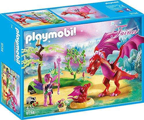 Playmobil 9134 - Madre Dragón con Bebé
