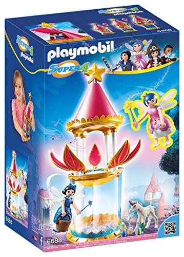 Playmobil 6688 - Torre mágica de flores con caja de música de hadas y brillo
