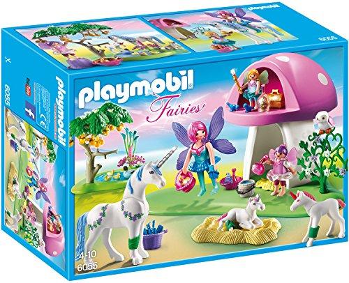 Playmobil 6055 - Arboleda de hadas con cuidado de unicornio