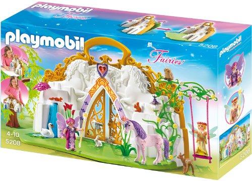 Playmobil 5208 - Tierra mágica de hadas en un estuche de unicornio