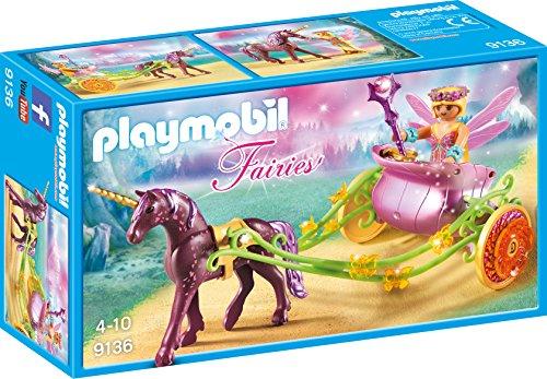 Playmobil 9136 - Hada de las flores con carro de unicornio