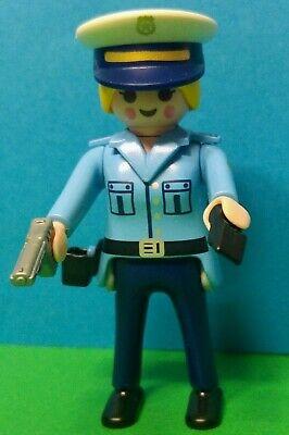PLAYMOBIL NUEVA SERIE 19!! POLICIA REF 70566 SERIE ROSA