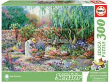 Puzzle 300 piezas, teile, Su Jardín, Senior, Educa 17981