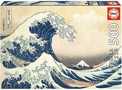 Educa 19002. Gran Ola de Kanagawa. Puzzle de 500 piezas. 48x34cm
