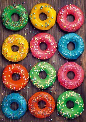 Educa 19005. Donuts de colores. Puzzle de 500 piezas. 48x34cm