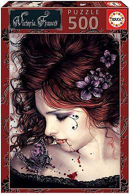 Educa 19008. Mariposa de Victoria Francés. Puzzle de 1000 piezas. 48x34cm