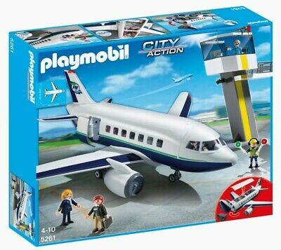 PLAYMOBIL 5261 Avion de pasajeros y carga