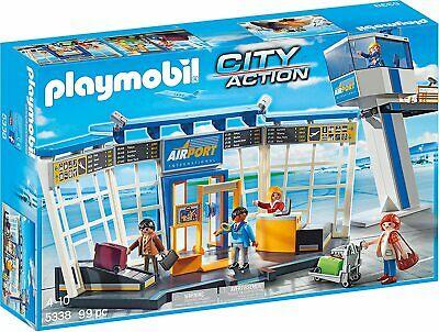 Playmobil 5338 City Action Torre de control y aeropuerto