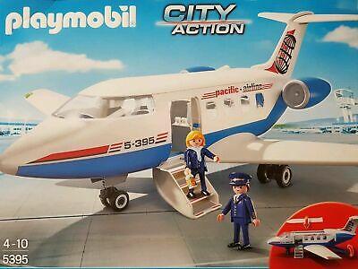 Playmobil 5395 Pasajero Avión Nuevo / Emb.orig City Acción