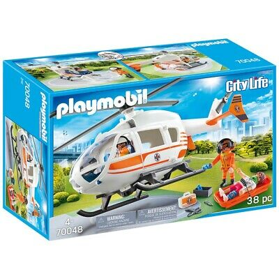 Playmobil 70048 City Life helicoptero de rescate