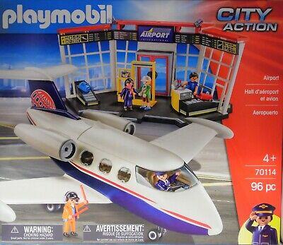 Playmobil 70114 Avion Airport city