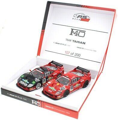 Revoslot RS0099 Set equipo Ferrari F40 Taisan 1994 # 40 y # 34