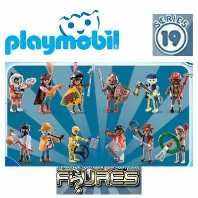 Serie 19 - PLAYMOBIL (70565) colección completa 12 figuras sobres